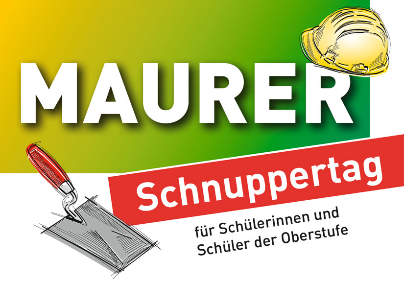 Schnuppertag Maurer